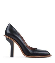 Marni Black Contrast Leather Pump