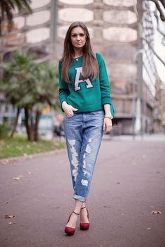 Chic and Silk: GET INSPIRED: Boyfriend Jean! Πως να Φορέσετε το τζιν του φίλου σας!