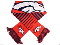 1 Nfl Denver #Denver Big Logo Double Sided Scarf By Forever Collectibles from $16.95