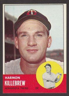1963 TOPPS  BASEBALL  # 500  HARMON KILLEBREW  SP   INV 11082