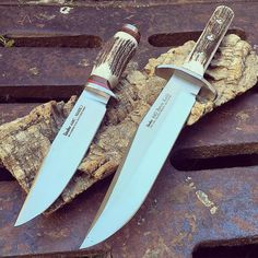 Linder Bowie knives by @coltelleriacollini  buy: www.knives.it ------------------------------- #hunting #hunter #hunt #outdoor #forest #intothewild #intothewoods #fixed  #hunt #bushcrafting #knifelife #hunters #explore #exploremore #sealife #neverstopexploring #survival  #woodsman #hiking #camping #wanderlust #wildernessculture #thegreatoutdoors #getoutside #wilderness #mountains #knivesdaily #linder #strong #outdoorlife
