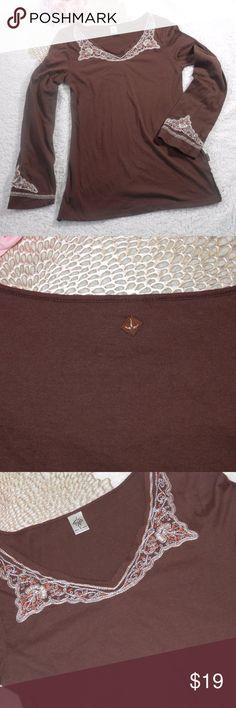 PrAna Embroidered Tunic Top PrAna Embroidered Tunic Top  size S Prana Tops Tunics