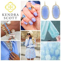 Kendra Scott Periwinkle Kendra Scott Jewelry, Periwinkle, Must Haves, Fashion, Jewels, Moda, Fashion Styles, Fashion Illustrations