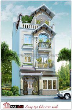 Mẫu thiết kế nhà phố | Cổ Điển | Nhà anh Trí - Quận 10 - NP-NNX0623