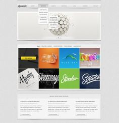Dynamic Portfolio Website Template PSD - http://www.welovesolo.com/dynamic-portfolio-website-template-psd/