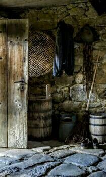 The beautiful Potting shed - christine bauer via Culligan Culligan brannon . Country Life, Country Living, Country Style, Lighthouse Keeper, Potting Sheds, Stone Flooring, Stone Walls, Wabi Sabi, Farm Life