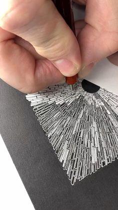 Doodle Art Drawing, Zentangle Drawings, Mandala Drawing, Pencil Art Drawings, Cool Art Drawings, Zentangle Patterns, Zentangles, Mandala Art, Flower Drawing Tutorials