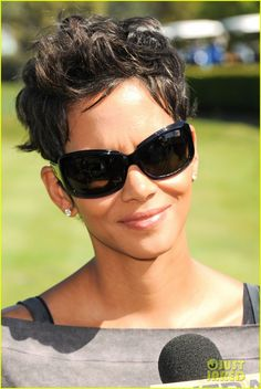 Halle Berry. I wish I could just have her hair.