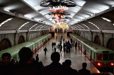 Apparently DC has a cool subway system (have they read unsuckdcmetro?)...but I'm a little metro-envious of what Pyongyang has got going on...