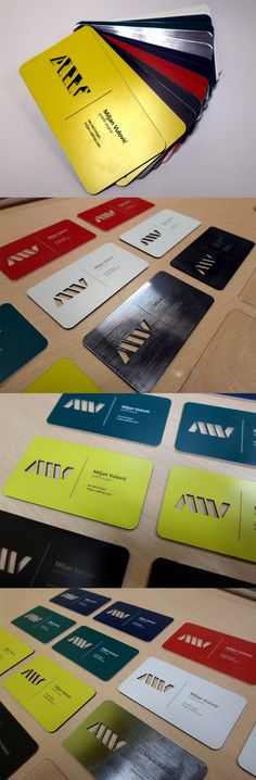 Laser Cut And Engraved Business Cards In Plastic, Metal And Paper