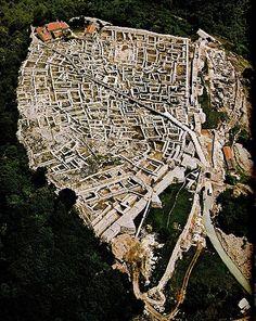 Шуменската крепост през 1981 г. (въздушна снимка) The #fortress of Shumen air view