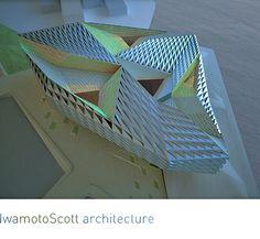 IwamotoScott architecture, Trifold Madang. Diagrams.