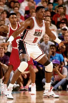 "Patrick Ewing USA Basketball Team ""Dream Team"""