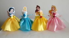 The world's catalog of creative ideas Disney Princess Birthday Party, Girl Birthday, Princesa Disney Bella, Princess Cupcake Toppers, All Disney Princesses, Princess Party Decorations, Snow White Birthday, Prince Party, Beauty And The Beast Party