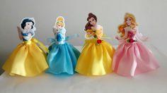The world's catalog of creative ideas Disney Princess Birthday Party, Cinderella Birthday, Girl Birthday, Princesa Disney Bella, Princess Cupcake Toppers, Princess Party Decorations, All Disney Princesses, Snow White Birthday, Prince Party