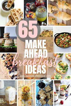 65 Make Ahead Breakfast Ideas - ECO•MOM•ICAL