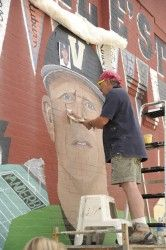 Corbin is the first head baseball coach in Vanderbilt's history to be included in the mural on and West End avenues. Vanderbilt Commodores, Coaching, Brother, Baseball, Awesome, Training, Baseball Promposals, Sibling