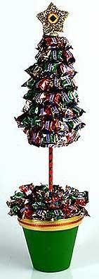 DIY Candy Christmas Tree. Christmas games and other fun ideas for other holidays too.