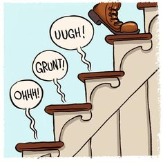 Did you know there's actually a special screw called Squeeeeek No More that can easily solve your noisy stairs problem? Here's how, and you'll find it at mcfeelys.com