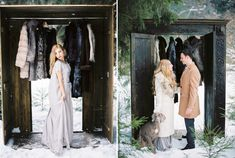 Narnia Inspired Winter Wedding Shoot | Yaroslav and Jenny Photography | Read more on fabmood.com