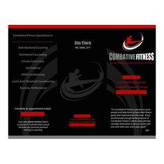 Brochure (Outside) by Howell Graphics for Combative Fitness
