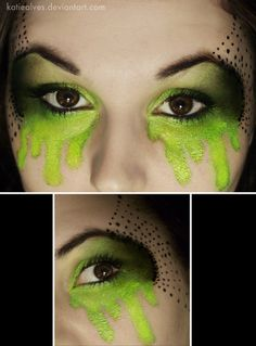 So Want to do this!! #halloween makeup