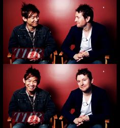 James Wan & Leigh Whannell #brotp