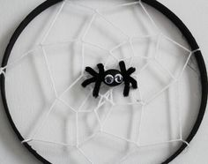 super easy spiderweb craft