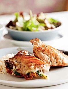 peitos de frango recheados com espinafres e ricotta | dias com mafalda #Nhammm