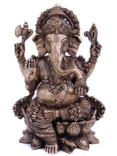 Sri Ganesha Ganesha Drawing, Lord Ganesha Paintings, Ganesha Art, Ganesha Tattoo Lotus, Lotus Tattoo, Tattoo Ink, Indiana, Ganesh Lord, Lord Shiva
