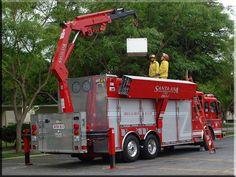 heavy rescue fire trucks