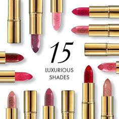 15 luxurious shades = 15 ways to look utterly sophisticated. Introducing the new Giordani Gold Iconic Lipstick, now with SPF 15 to deliver beautiful protection plus intense, rich colour. Biz Inquiries to cosmeticsquarenaija@yahoo.co.uk #Oriflame