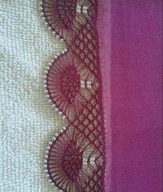 Zig Zag Crochet, Crochet Lace Edging, Knit Crochet, Viking Tattoo Design, Viking Tattoos, Saree Kuchu Designs, Baby Dress Design, Sunflower Tattoo Design, Needle Lace
