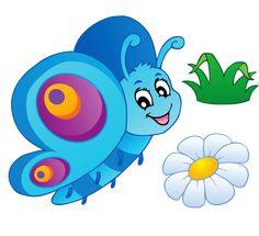 View album on Yandex. Butterfly Clip Art, Butterfly Pictures, Cute Butterfly, Butterfly Crafts, Cute Cartoon Fish, Happy Birthday Printable, Christmas Lyrics, Painted Driftwood, Baby Posters