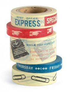 Paper Tape - Vintage Office