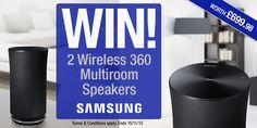 #Samsung Wireless 360 Multiroom Speakers competition - Winner: subsub3