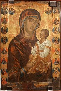 Byzantine Art, Catholic Art, Orthodox Icons, Virgin Mary, Madonna, Christianity, Painting, God, Quotes