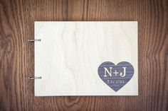 Unusual Guest Book. Wedding Guestbook. Dark wood. by woodlack, $45.00