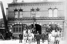 Brixton Old Fire Station, Ferndale Road, 1870s