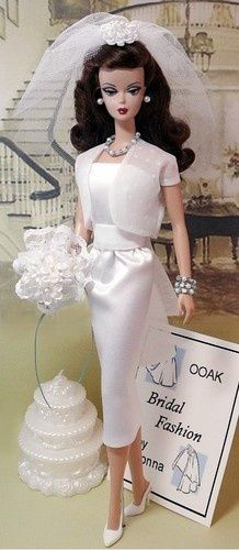 Bridal Barbie by Donna's Doll Designs