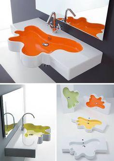 fregadero de diseño splash