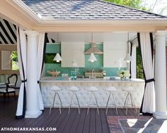 outdoor kitchen | Tobi Fairley