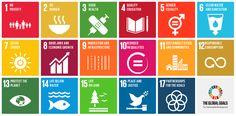 TOUCH cette image: 17 objectifs mondiaux en image interactive by PINALINK
