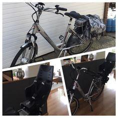 Instagram picutre by @lindascolorfullife: Zo eerste ritje op mijn nieuwe e-bike zit erop. Manlief neemt mijn andere waar ik nog weinig op heb gereden Bij deze ook een stoeltje voor Indy gekocht dus we kunnen nu samen lekker toeren #ebike #stella #happy #fietsen - Shop E-Bikes at ElectricBikeCity.com (Use coupon PINTEREST for 10% off!)