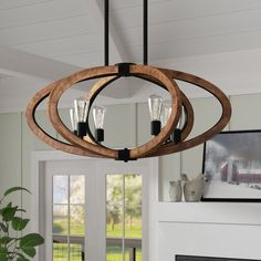 Laurel Foundry Modern Farmhouse Orly 6-Light Globe Chandelier & Reviews | Wayfair