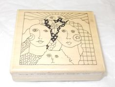 Paula Best Women with cat rubber stamp Goddess 9715 - A Collage Art Stamps lady  #PaulaBest #GoddessCelestial