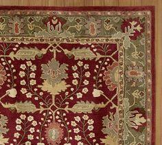 Franklin Persian-Style Rug #potterybarn