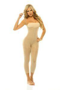 178652cd63973 Full body figure shaper Braless Adjustable straps Anti cellulite Faja  enteriza