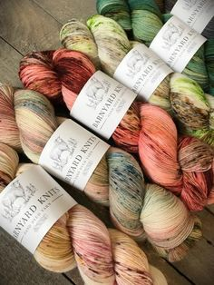 We proudly offer Barnyard Knits at Knotty Lamb. Please call to inquire what we currently have in stock or better yet, come visit us! Barnyard Knits is only available for in-store purchases. Yarn Stash, Yarn Needle, Ombre Yarn, Yarn Inspiration, Spinning Yarn, Yarn Bombing, Yarn Shop, Sock Yarn, Hand Dyed Yarn