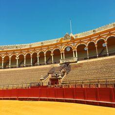 Insta Corrida #archidaily #seville #sevilla #architecture #skyline #corrida #instagood #maestranza